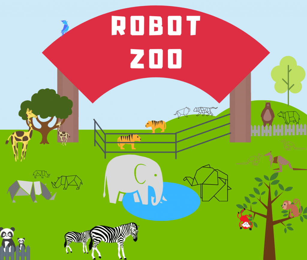 robot zoo summer camp
